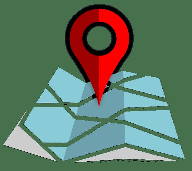 GPS Map Location Image