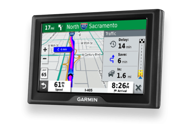 Garmin Drive 52 & Live Traffic Image