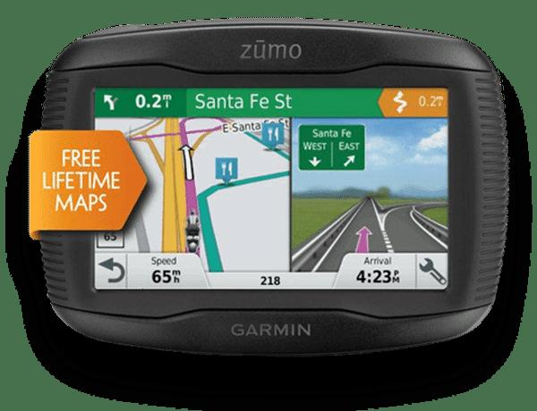 Zumo 595LM Free Lifetime Maps